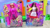 NEW BARBIE SPY SQUAD Dolls From 2016 Movie Fight Frozen Hans & Little Mermaid Ursula Dolls