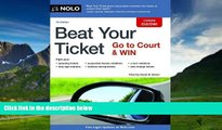 Books to Read  Beat Your Ticket: Go to Court   Win  Full Ebooks Best Seller