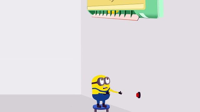 Minions Banana Balloon Strings Funny Cartoon ~ Minions Mini Movies 2016 HD 14