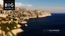 Calanques de Marseille (4k - Time lapse - Tilt-Shift)