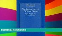 Full [PDF]  The Islamic Law of Personal Status: (Arab and Islamic Laws, Volume 23) (Arab   Islamic