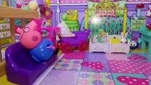 Свинка Пеппа новые серии Мама Свинка Рожает Мультик из игрушек Доктор Заяц принимает Роды Мама свинк