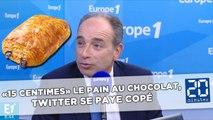 «15 centimes» le pain au chocolat, Twitter se paye Copé