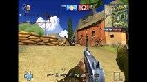 Gameplay Battlefield 1942(Battlefield Heroes mod)