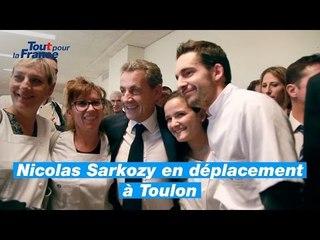 Nicolas Sarkozy dans le Var