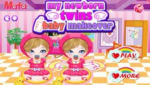 My Newborn Twins Baby Makeover | Cute Twin Babies Girl Game