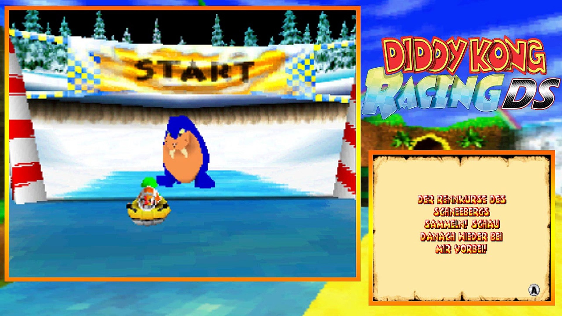Lets Play Diddy Kong Racing DS Part 7: Bluey, das Walross!