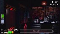 Five Nights at Freddys Night 4 - Freddy Bonnie Chica Foxy Night