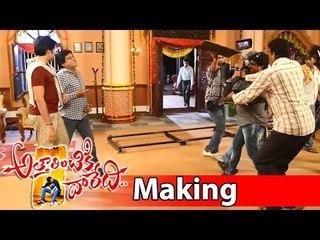 Attarintiki Daredi Movie Making || Ali And Pawan Kalyan Scene Making (In Marriage Function )