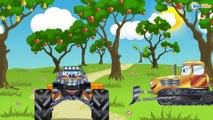 Camion pour bébés   Voitures de construction   Dessins animés pour bébés   Voiture Pour Enfants