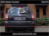 2015 Subaru Forester Used Cars NASHVILLE TN