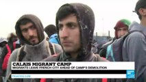 Calais camp dismantled: migrants react to the Jungle migrant camp evacuation