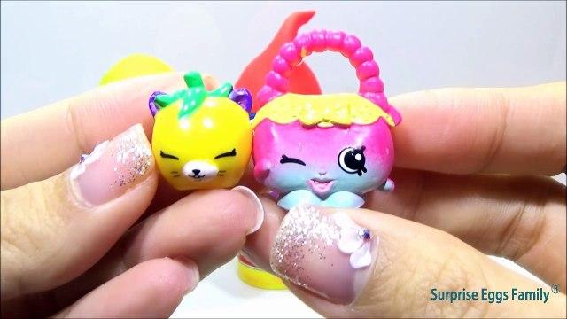 Play Doh Surprise Eggs Shopkins! Kinder Egg Surprise SHOPKINS Toys