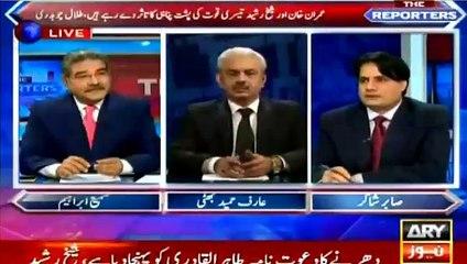 Sabir Shakir reveals why Talal Ch directly alleged establishment today behind Imran Khan's lock-down march