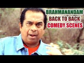 Brahmanandam Back To Back Comedy Scenes || Non Stop Comedy Scenes