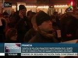 Policías franceses marchan por mejores condiciones salariales
