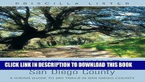 [New] Ebook Take a Hike: San Diego County: A Hiking Guide to 260 Trails in San Diego County Free