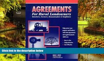Must Have  Agreements for Rural Landowners, Ranchers, Farmers, Homesteaders   Outfitters  READ