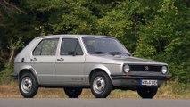 VW Golf I - Generation one to seven Exterior Design