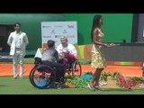 Women's Individual W1 Victory Ceremony | Rio 2016 Paralympics