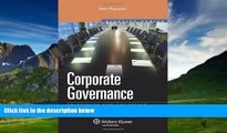 Books to Read  Corporate Governance: Principles   Practices (Aspen Elective Series) (Effective