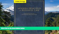 READ FULL  Cengage Advantage Books: Modern Principles of Business Law: Contracts, the UCC, and