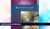 Must Have  Business Law and the Legal Environment, Standard Edition (Available Titles CengageNOW)