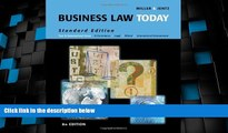 Big Deals  Business Law Today, Standard Edition (Available Titles CengageNOW)  Full Read Best Seller