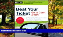Books to Read  Beat Your Ticket: Go to Court   Win (5th edition)  Best Seller Books Most Wanted