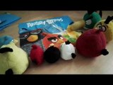 Angry Birds Special - Bed line unboxing & meeting Angry Flocking Birds & Bad Flocking Piggies