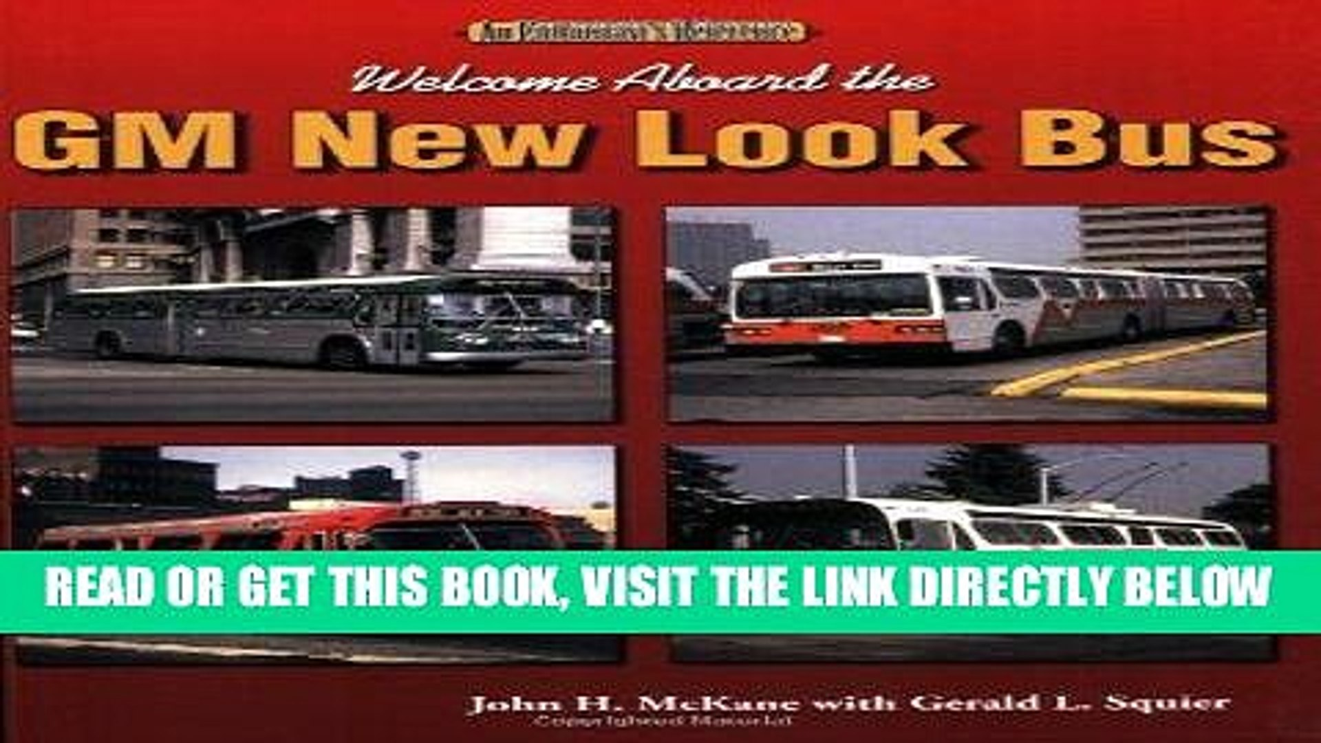 """Welcome Aboard the GM New Look Bus /""""NEW/"""""""