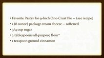 Pumpkin Cheese Pie | EASY WAY TO MAKE RECIPES | FOOD AND RECIPES