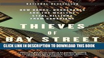 [BOOK] PDF Thieves of Bay Street: How Banks, Brokerages and the Wealthy Steal Billions from
