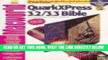[Free Read] Quarkxpress 3.2/3.3 Bible Free Download