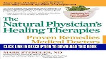Ebook The Natural Physician s Healing Therapies: Proven Remedies Medical Doctors Don t Know Free