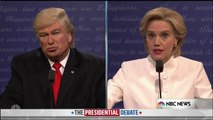 Tom Hanks Ensures Donald Trump & Hillary Clinton Leave No Issue Un-Spoofed  Saturday Night Live