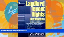 Books to Read  Landlord/Tenant Rights Washington (Landlord/Tenant Rights in Washington)  Best