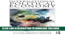 [New] Ebook International Political Economy: Debating the Past, Present and Future Free Online