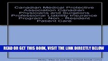 [New] Ebook Canadian Medical Protective Association Canadian Physicians and Surgeons Professional