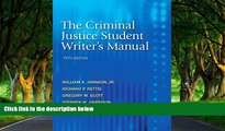 Big Deals  The Criminal Justice Student Writer s Manual (5th Edition)  Best Seller Books Most Wanted
