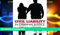 Big Deals  Civil Liability in Criminal Justice  Best Seller Books Most Wanted