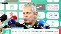 Reinaldo Rueda habló sobre su nominación al Balón de Oro 2016 en la categoría de técnicos