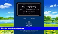 Books to Read  West s Legal Environment of Business: Text and Cases  Full Ebooks Best Seller