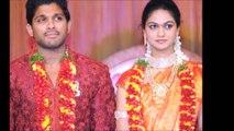 Actor Allu Arjun Wife Sneha Personal and Private Pics 2016
