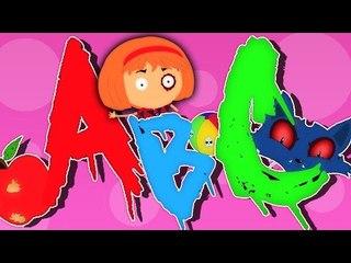 'ABC Song'   Страшные Видео   Мультфильм для детей   Обучающие песни
