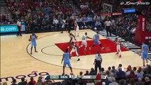 Denver Nuggets vs Portland Trail Blazers - Full Game Highlights | October 16, 2016 | 2016 NBA Preseason