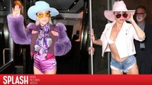 Lady Gaga adore les shorts courts