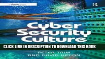 [New] PDF Cyber Security Culture: Counteracting Cyber Threats through Organizational Learning and
