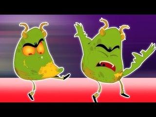 Шалтай-Болтай сидел на стене   Страшные дети песни   потешки   Humpty Dumpty   Baby Rhyme Song