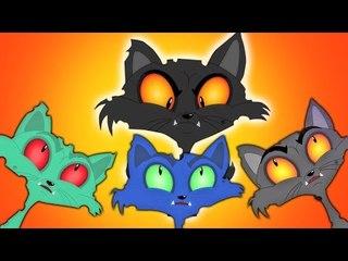 Three Little Kittens   три маленькие котята   страшновато рифмы для детей   дети видео